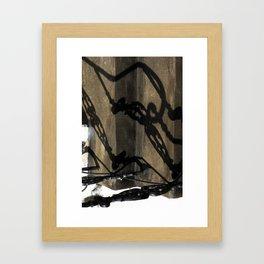 Shadow in Hackney2 Framed Art Print