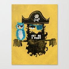 Trendy Pirate  Canvas Print