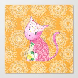 Meow Cat Canvas Print