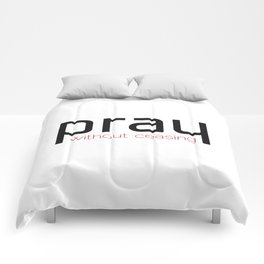 Christian,Bible verse,pray without ceasing Comforters
