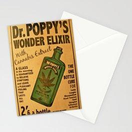 Vintage poster - Dr. Poppy's Wonder Elixir Stationery Cards