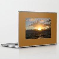 hawaiian Laptop & iPad Skins featuring Hawaiian Sunset by Katherine Farah