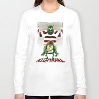 nightmare Long Sleeve T-shirts featuring Nightmare by le.duc