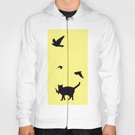 Cat Catch Hoody