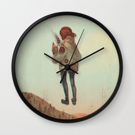 Overcoming Obstacles Wall Clock