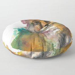 Nature Fox Floor Pillow