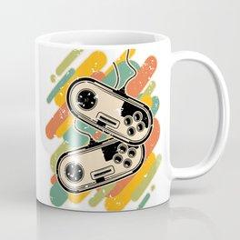 Retro Colored Gamepads Coffee Mug