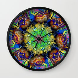 Over Commotion Wall Clock