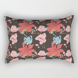 Choco Lily Rectangular Pillow