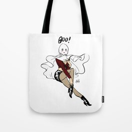 Willow Ghost Pin up Tote Bag