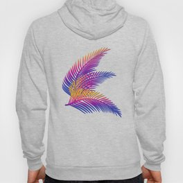 Neon Leaves Hoody