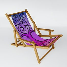 Tree of Life - Hot Pink Sling Chair