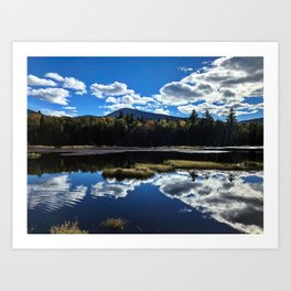 Fall Reflections at Sugarloaf Art Print