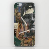 chuck iPhone & iPod Skins featuring Chuck Gross by Strawberry Wastebasket