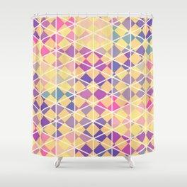 Purple indulgence pattern art Shower Curtain