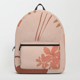 Flower Vase Backpack