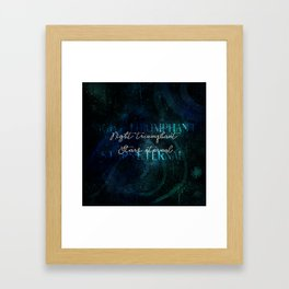 Stars eternal Framed Art Print