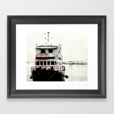 row row row Framed Art Print