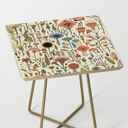 Wildflower Chart Side Table