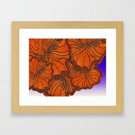 Australica Hibiscus Framed Art Print