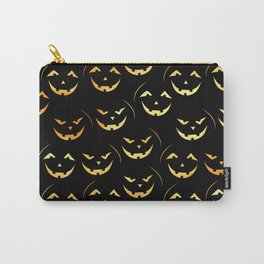 Scary jack-o-lantern Carry-All Pouch