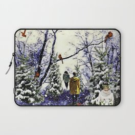 A Chill In A Winter Day Laptop Sleeve