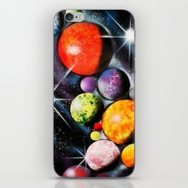 New Space Age iPhone Skin