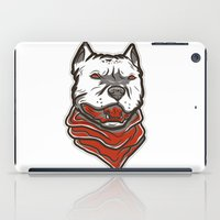pitbull iPad Cases featuring Pitbull by VentureDesign
