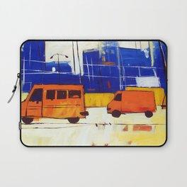 Yellow Buses Laptop Sleeve