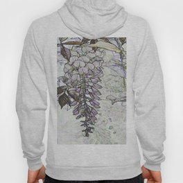 Wisteria Abstract Hoody
