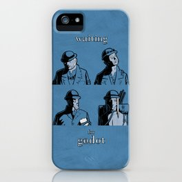 Waiting for Godot iPhone Case