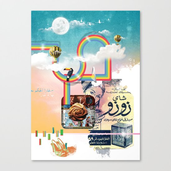 Insta Groove Canvas Print