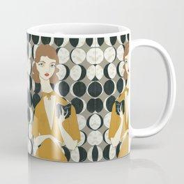 Phases of the Moon girl Coffee Mug