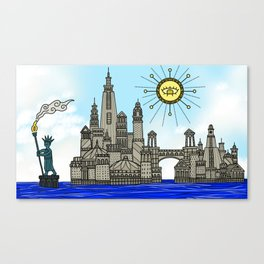 Old York City Canvas Print
