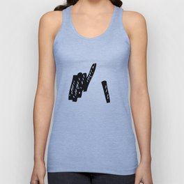 Drawing charcoal sticks Unisex Tank Top