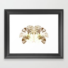 Insecte Eventail II Framed Art Print