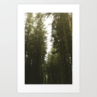 giants Art Prints featuring Giants by Rikke Hass Christensen