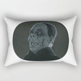 The Opera's Phantom on vinyl record print Rectangular Pillow
