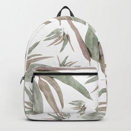 Eucalyptus Leaves Pattern Backpack