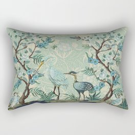 The Chinoiserie Panel Rectangular Pillow