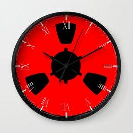 Reel of Tape Wall Clock