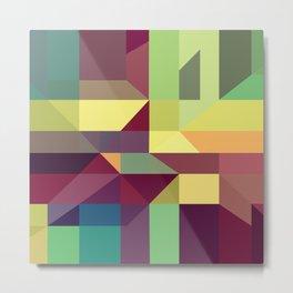 Modern Pattern No. 276 Metal Print
