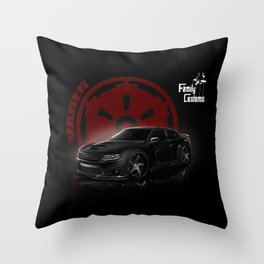 Project Vader Throw Pillow