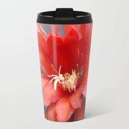 Jungle Cactus Red Travel Mug