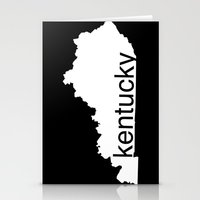 kentucky Stationery Cards featuring Kentucky by Isabel Moreno-Garcia