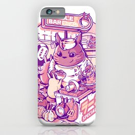 My neighbor noodle bar iPhone Case