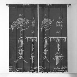 1901 Artist's Palette Vintage Patent Print Blackout Curtain