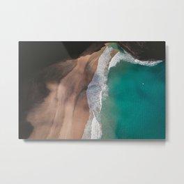 waves #society6 #decor #buyart Metal Print