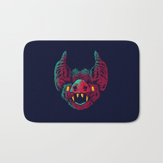The bat Bath Mat