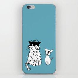 Ninja cats iPhone Skin